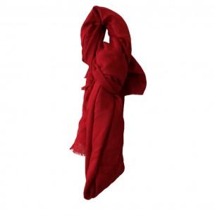 RED COLOUR PASHMINA STOLE